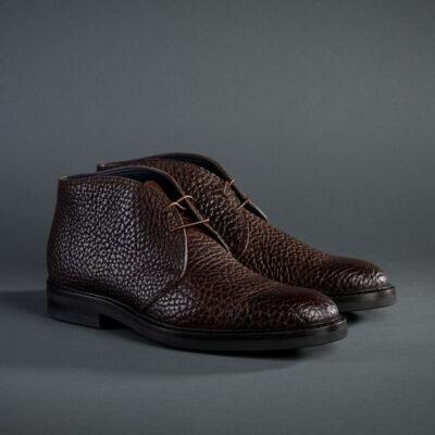 Zonkey Boot Chukka-Boot, braunes Büffelleder