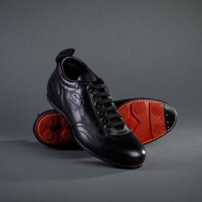 Herren Freizeitschuh von Pantofola d´Oro, schwarz
