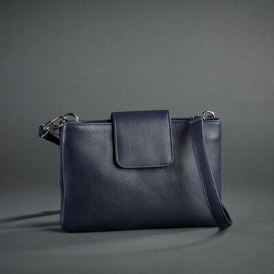 Schuhmann-Wien Tasche, blau