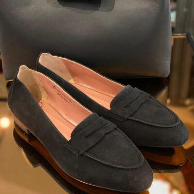 Velours-Sandale von Silvestro